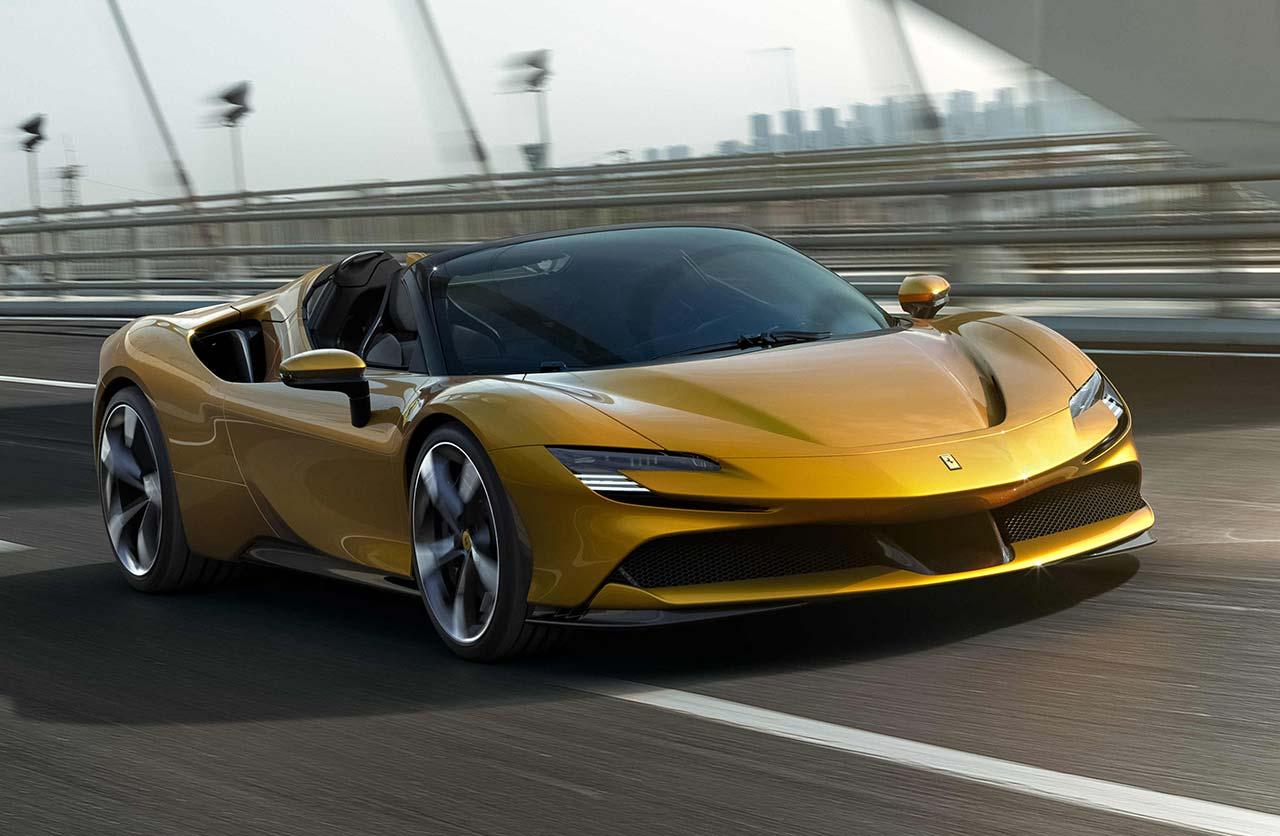 Con ustedes, la nueva Ferrari SF90 Spider
