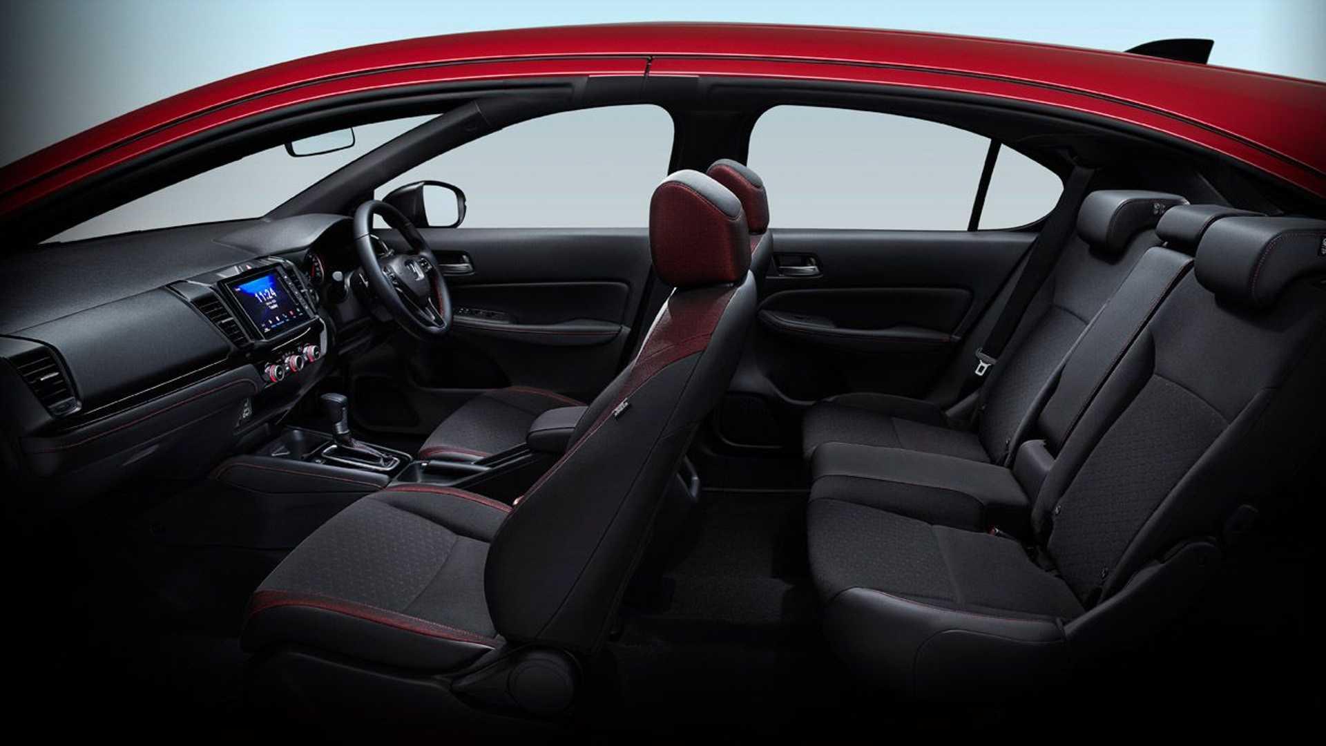 Interior Nuevo Honda City Hatchback