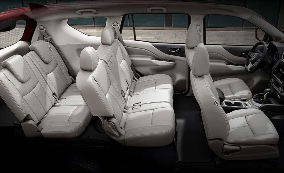 Interior Nissan X-Terra 2021