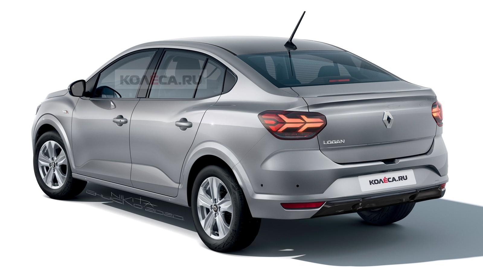 Nuevo Renault Logan Europa proyección