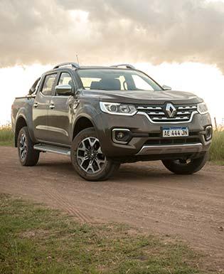 Renault lanzó la Alaskan en Argentina