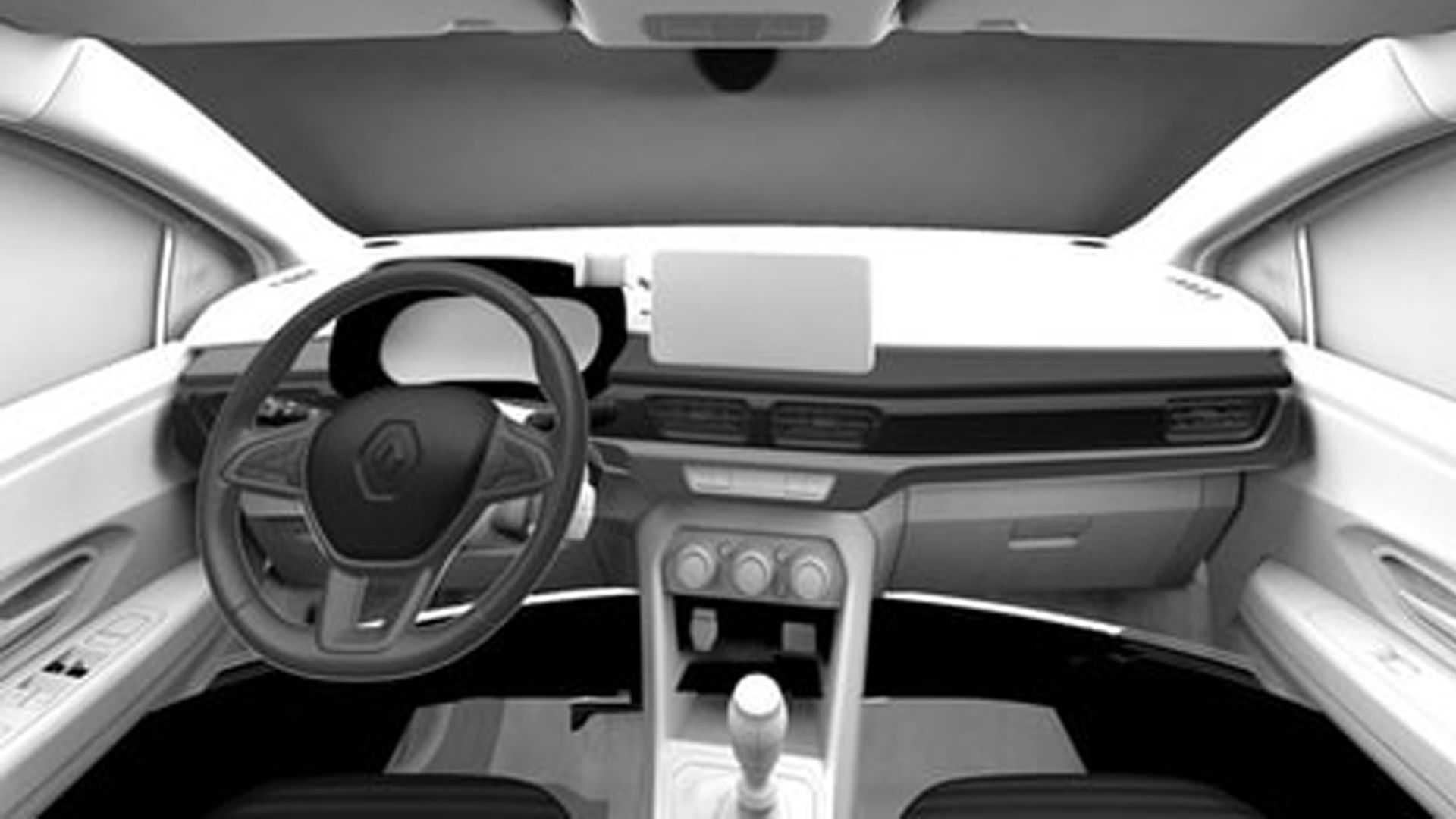 Interior Renault Taliant patente