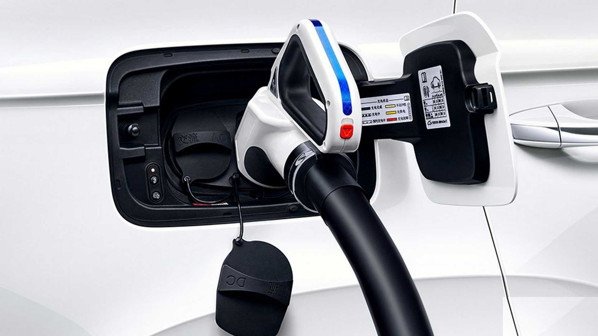Carga Volkswagen e-Tharu