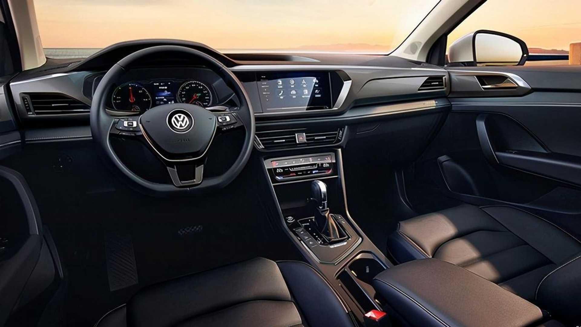 Interior Volkswagen e-Tharu