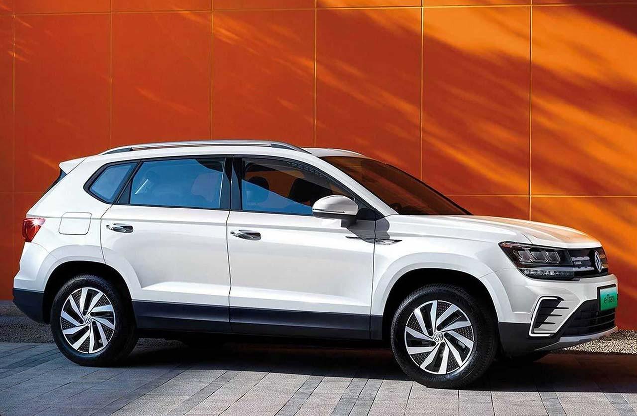 """Volkswagen e-Tharu: el """"Taos"""" para China tiene su versión eléctrica"""