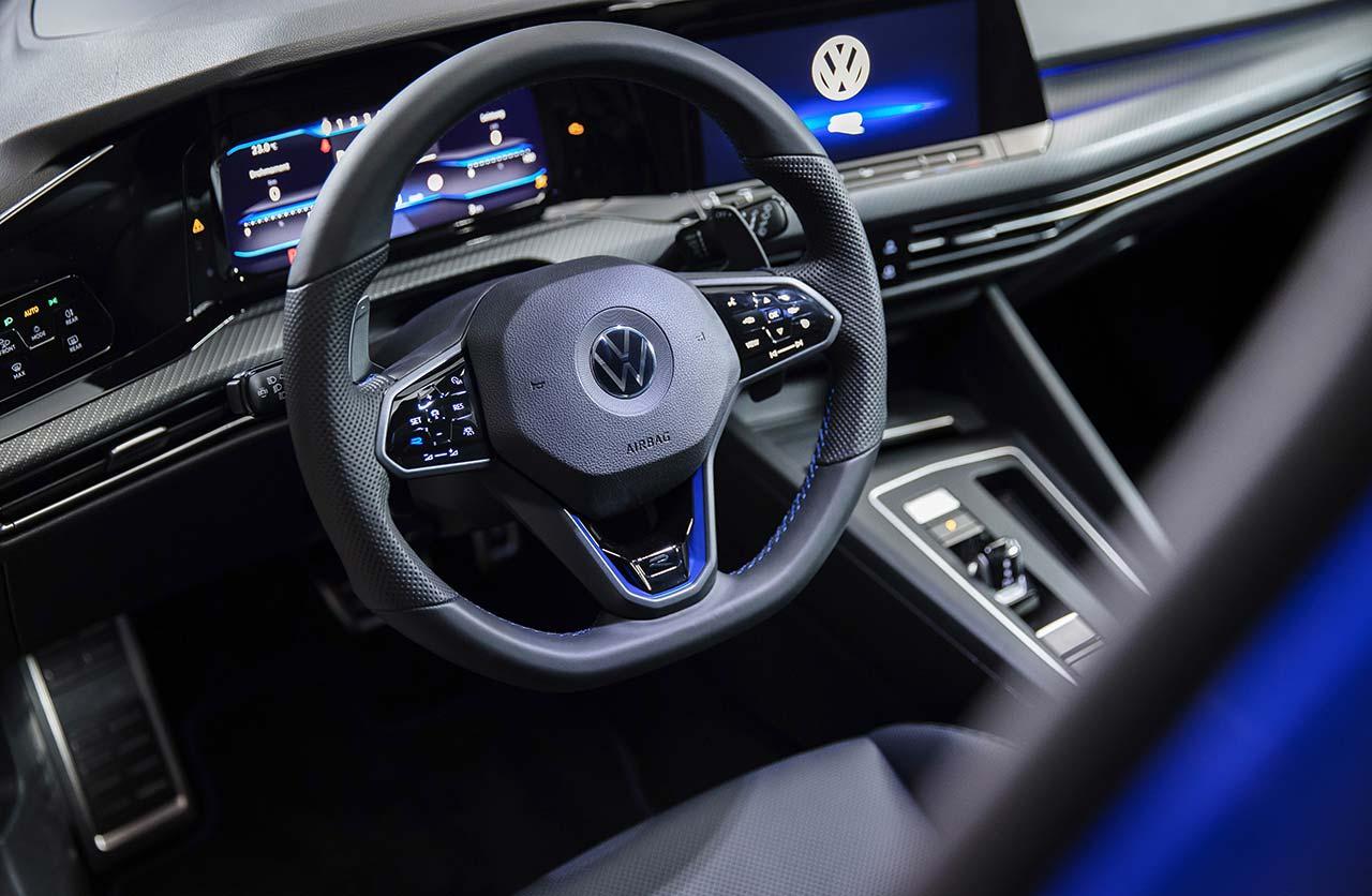Interior Nuevo Volkswagen Golf R 2021