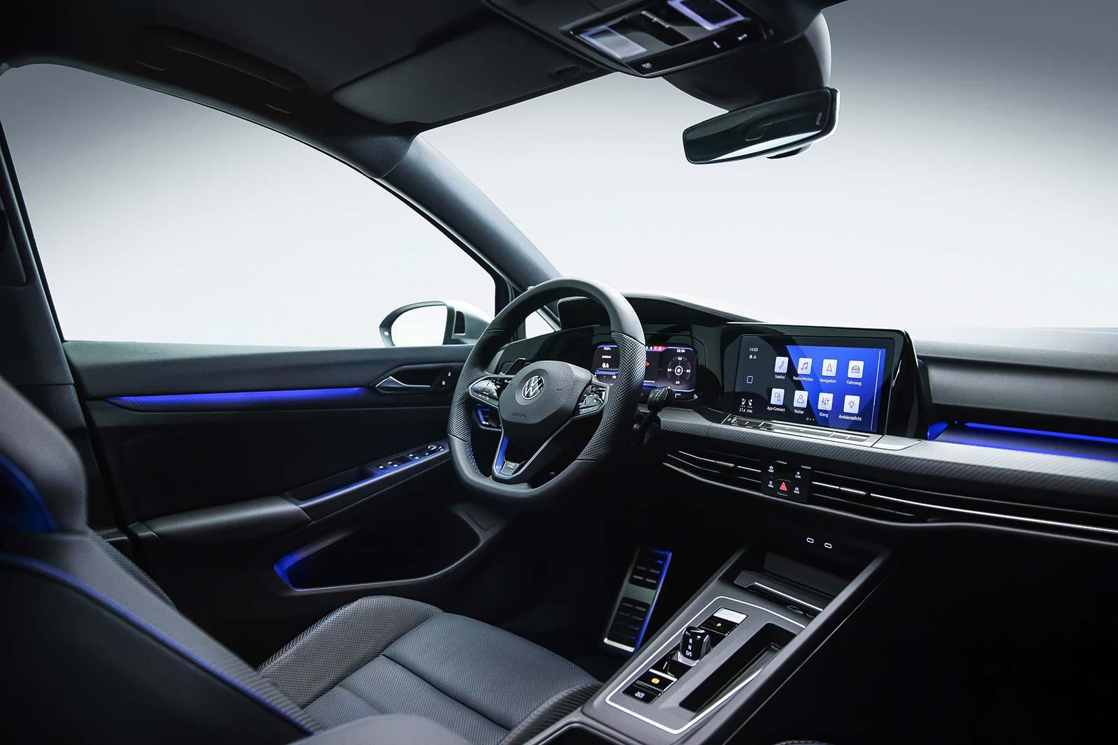 Interior nuevo Volkswagen Golf R