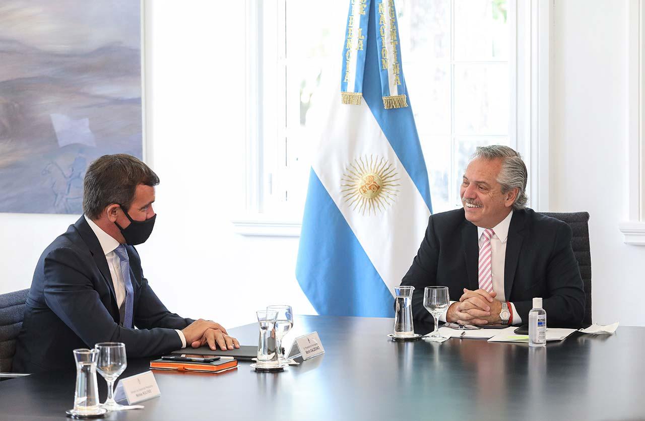 Martín Galdeano y Alberto Fernández