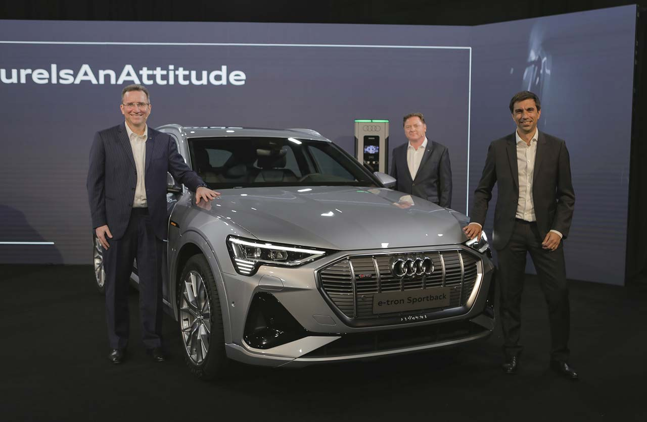 Audi e-tron en Argentina
