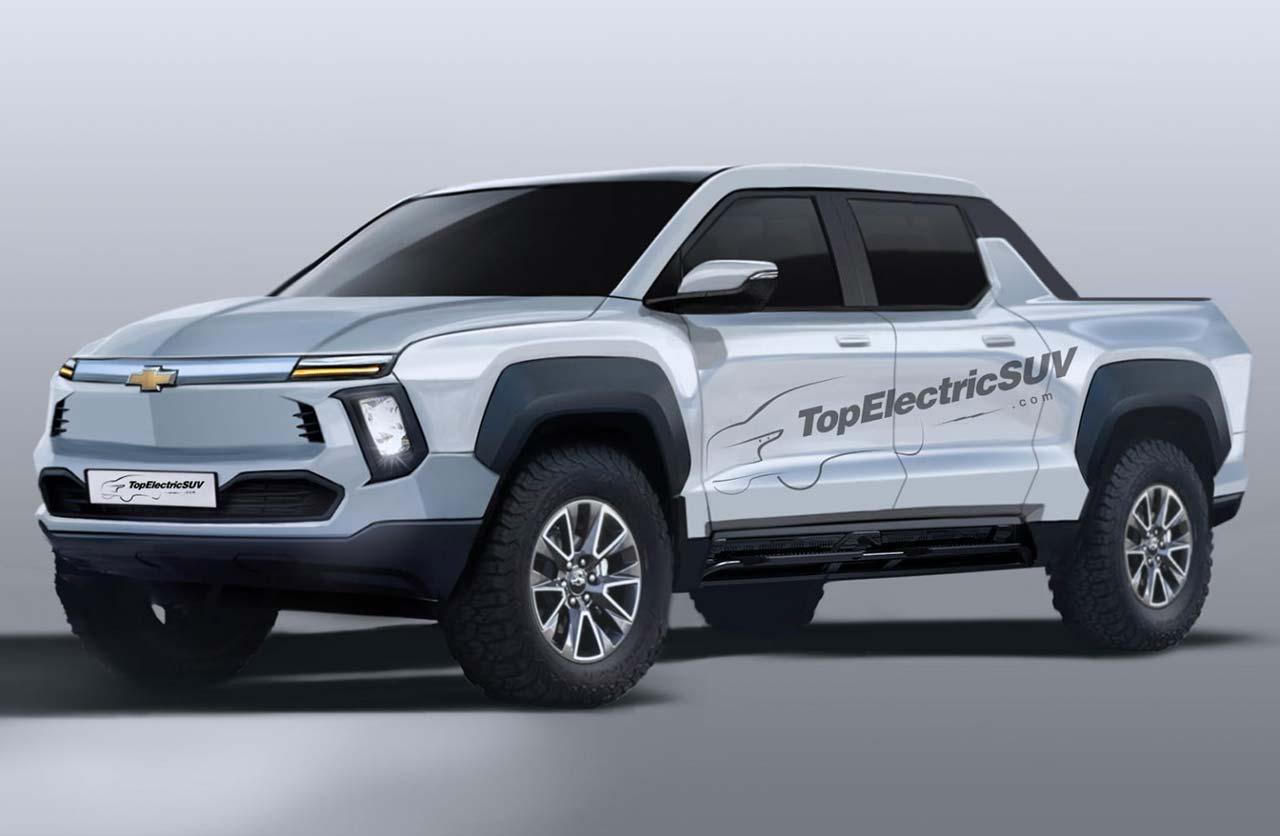 Anticipan la pick up eléctrica de Chevrolet
