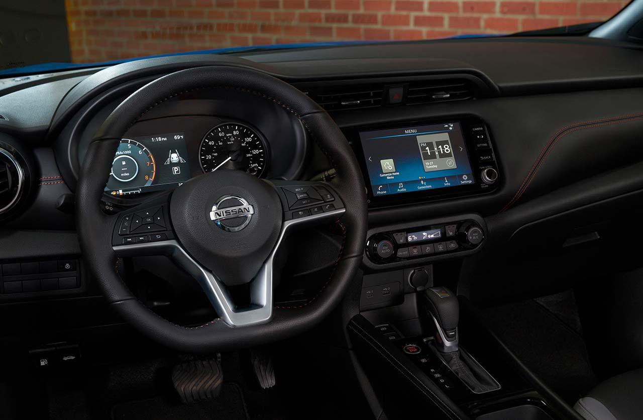 Interior nuevo Nissan Kicks 2021
