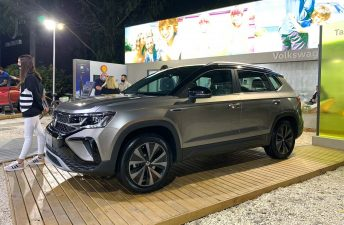Volkswagen ya muestra el Taos nacional