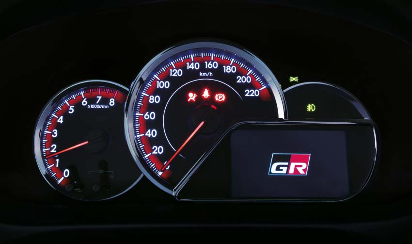 Interior Toyota Yaris GR-S
