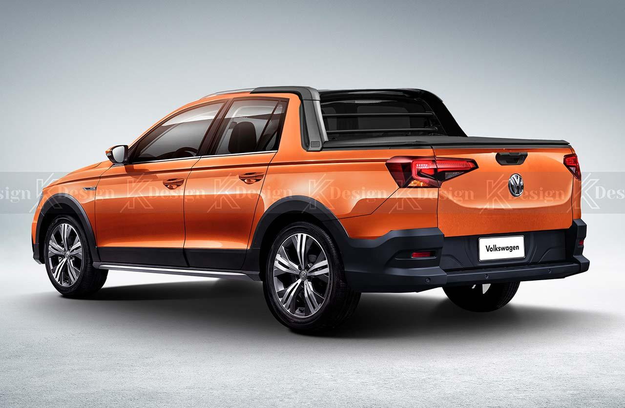 Nueva Volkswagen Saveiro 2022 Kdesign
