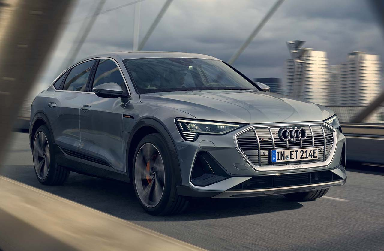 Llegaron los Audi e-tron (eléctricos)