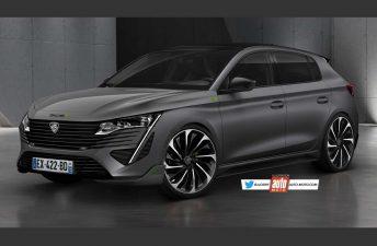 Cómo sería el nuevo Peugeot 308 deportivo