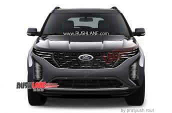 Nuevo SUV de Ford en camino