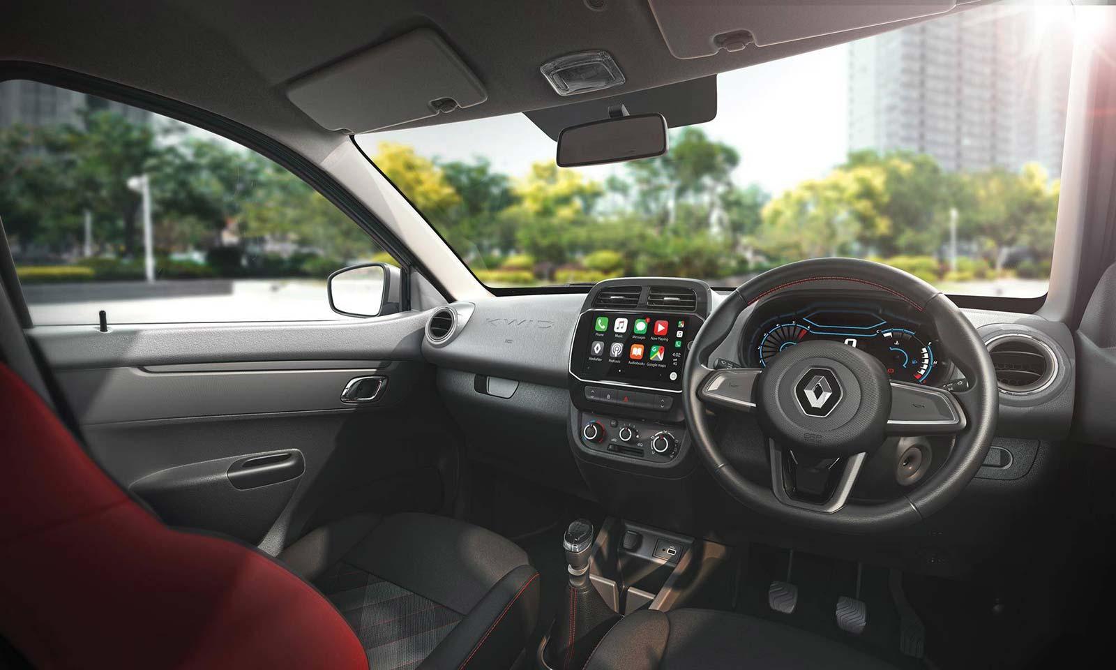 Interior Nuevo Renault Kwid