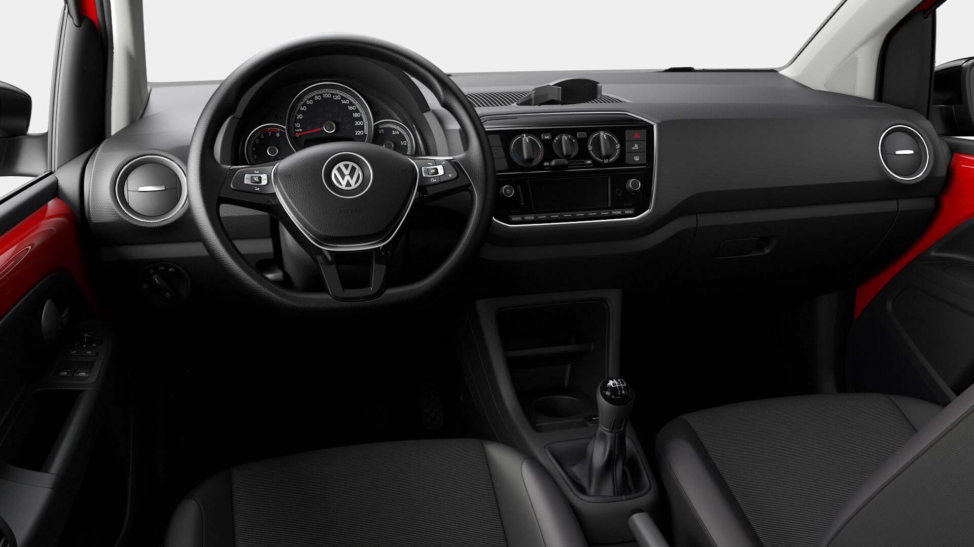Interior Volkswagen Up! 2021