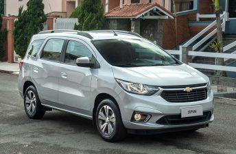 Chevrolet Spin 2021: con más seguridad