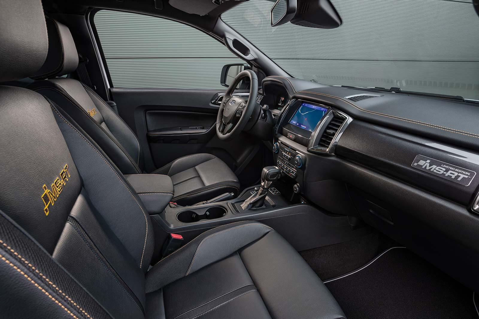 Interior Ford Ranger MS-RT 2021