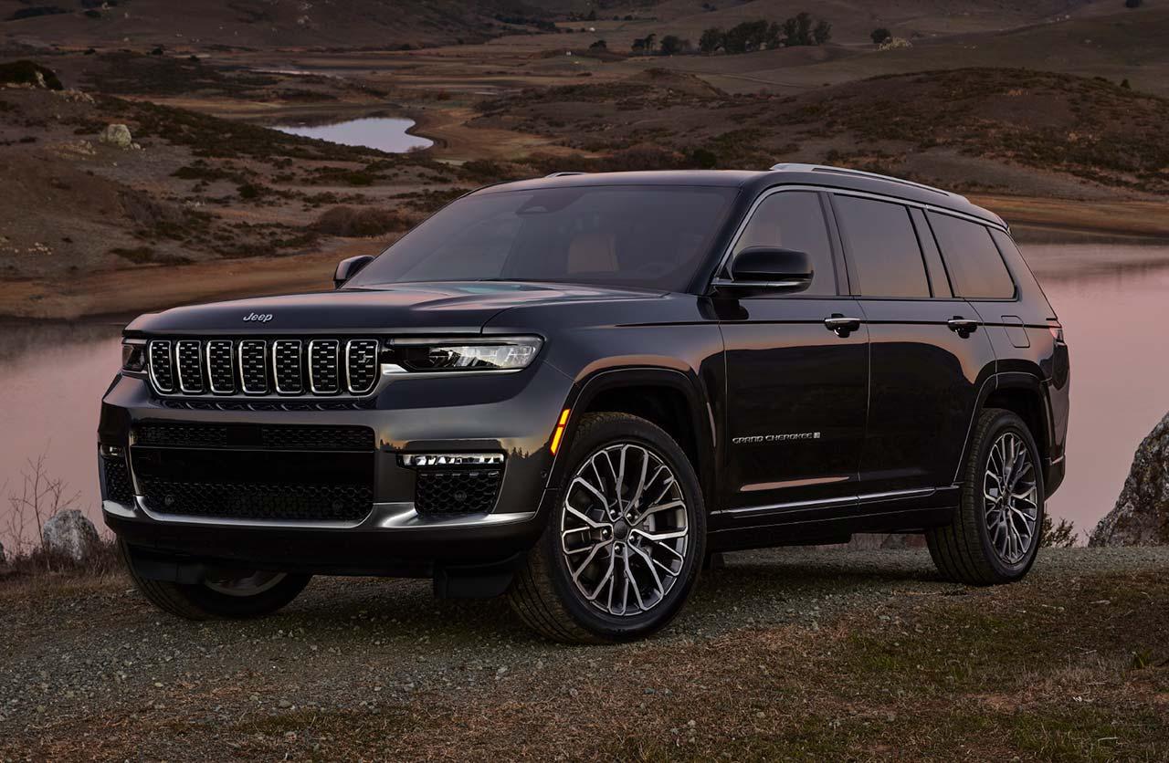 Con ustedes, el nuevo Jeep Grand Cherokee
