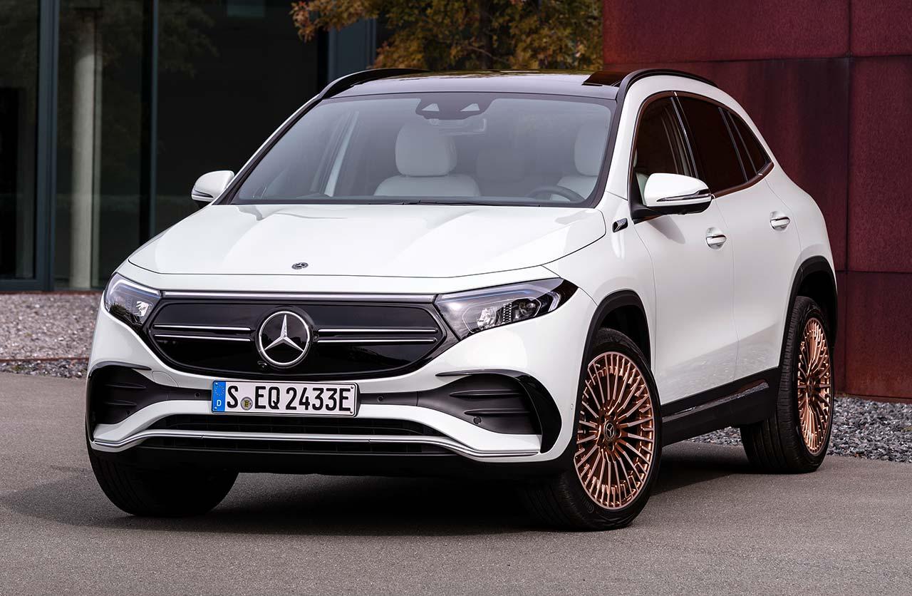 EQA, el nuevo SUV eléctrico de Mercedes-Benz