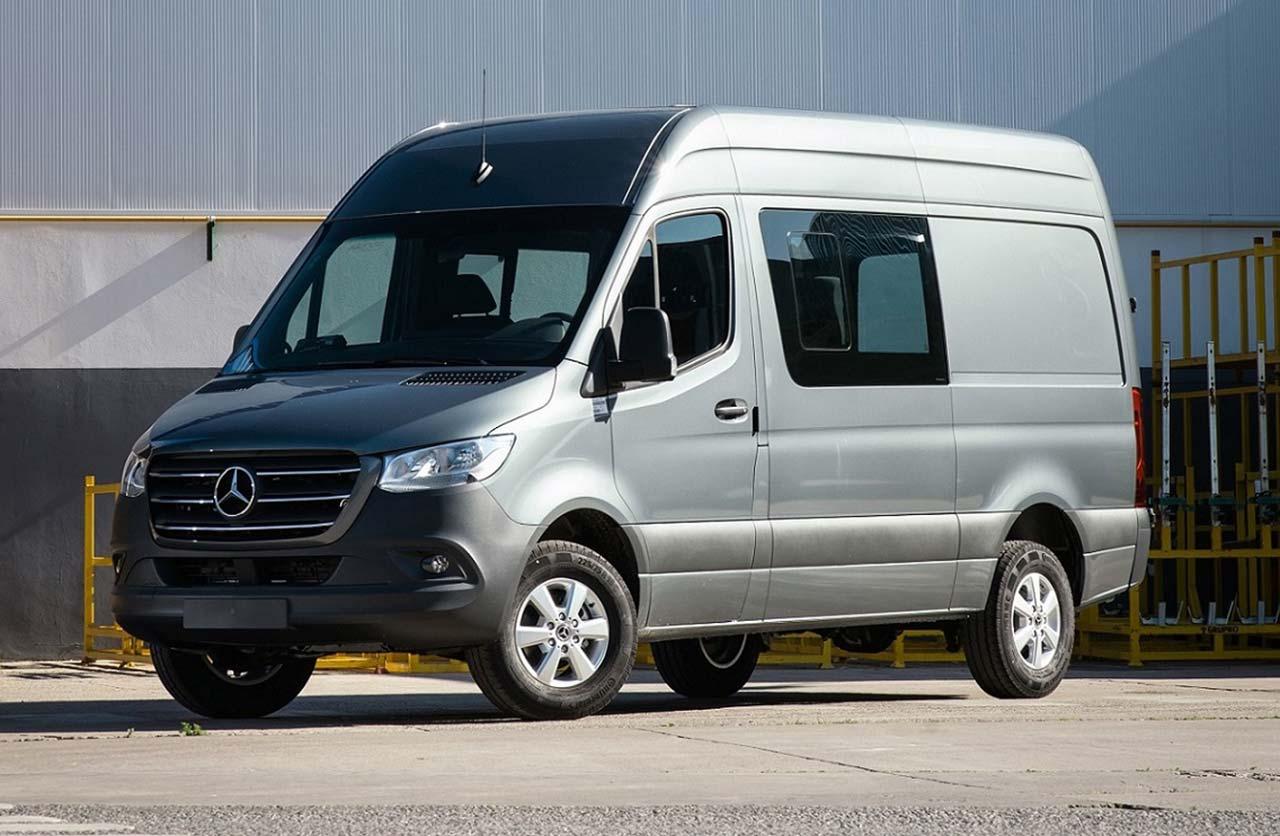 Mercedes-Benz lanzó nuevas versiones de la Sprinter nacional