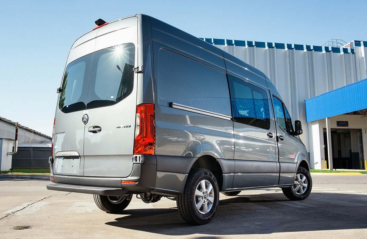 Mercedes-Benz Sprinter Furgón Mixto 3,5 toneladas