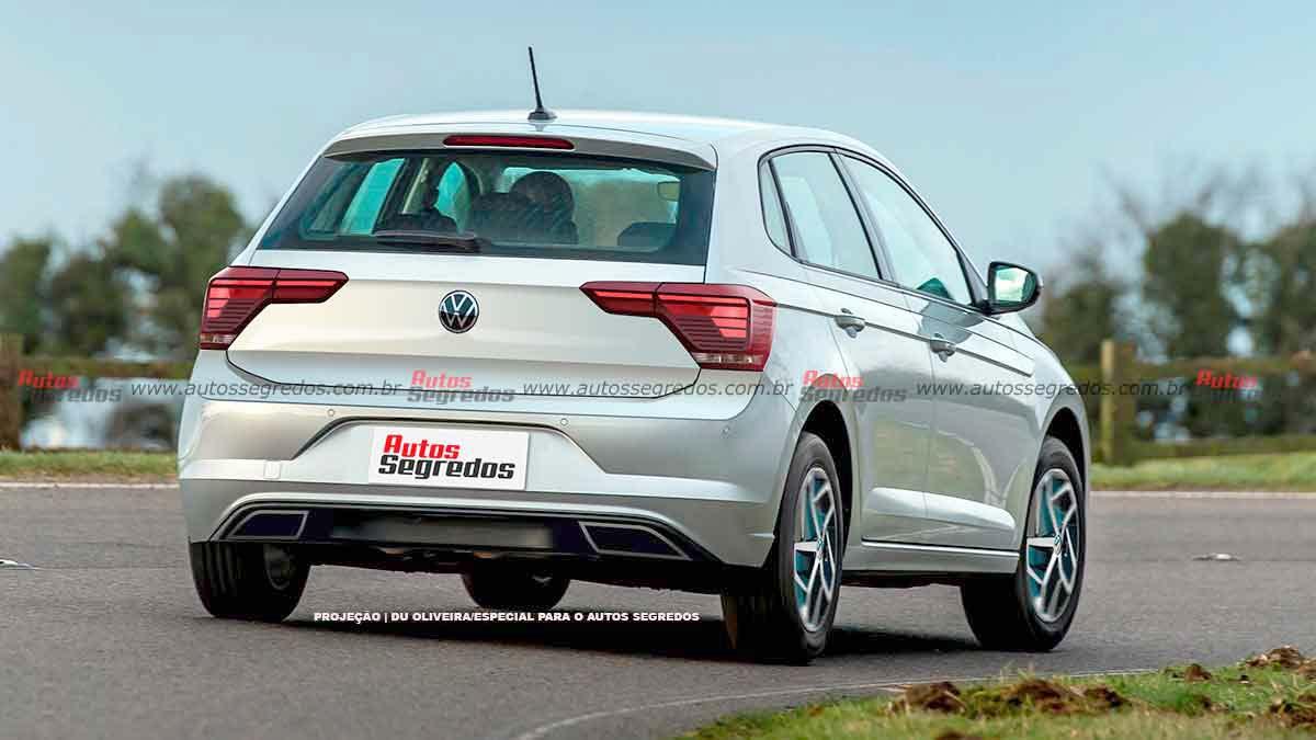 Volkswagen Polo regional 2023 render