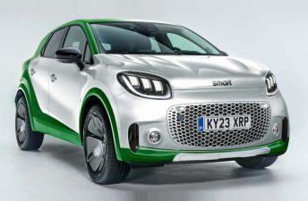 Nueva era: Smart tendrá un SUV eléctrico