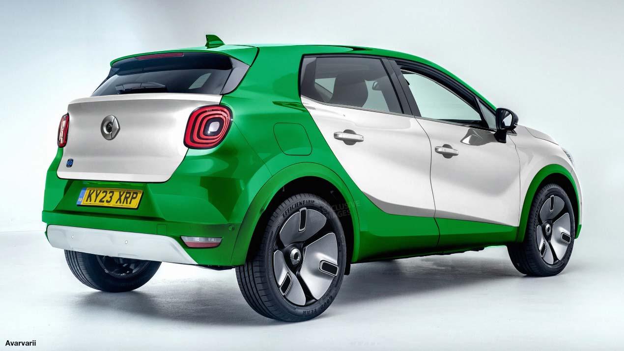 Nuevo SUV Smart eléctrico