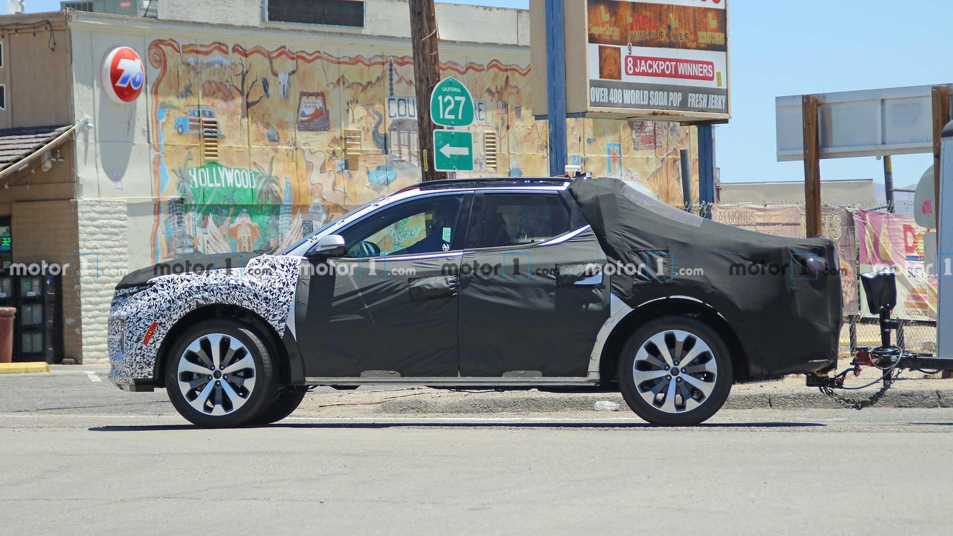 Hyundai Santa Cruz foto espía