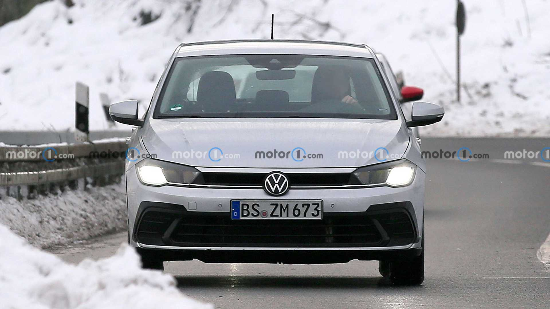Volkswagen Polo 2022 restyling