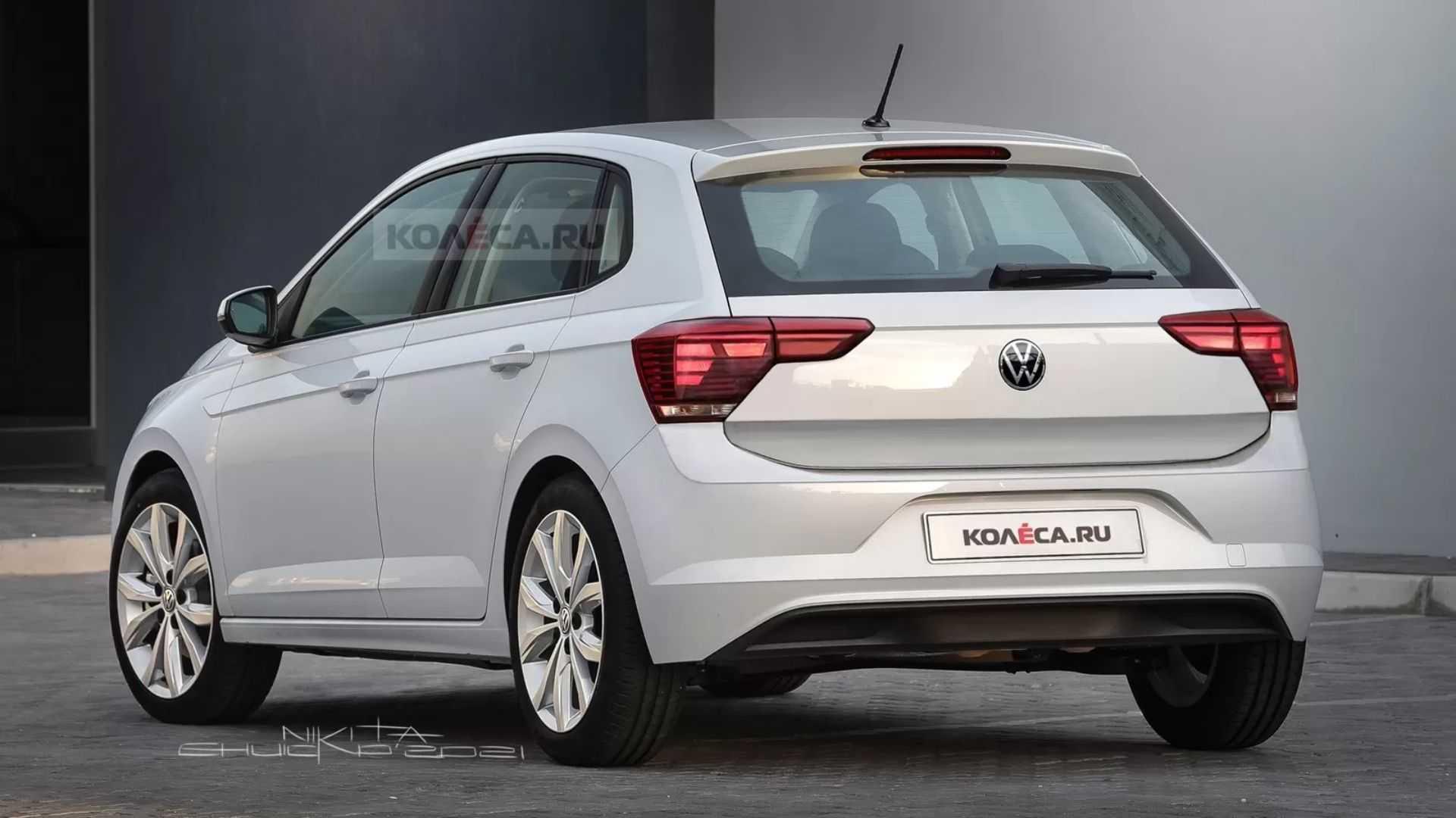 Volkswagen Polo 2022 render