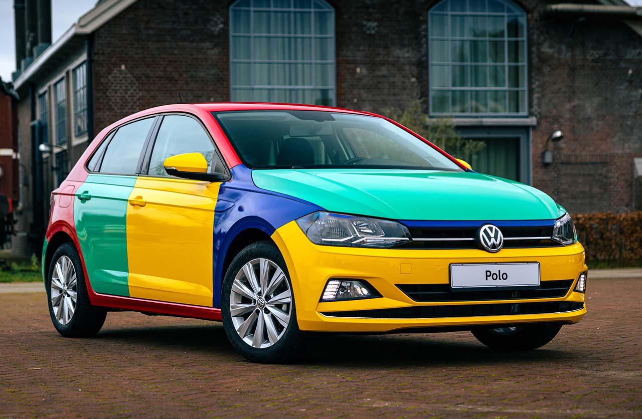 Regresó el Volkswagen Polo multicolor