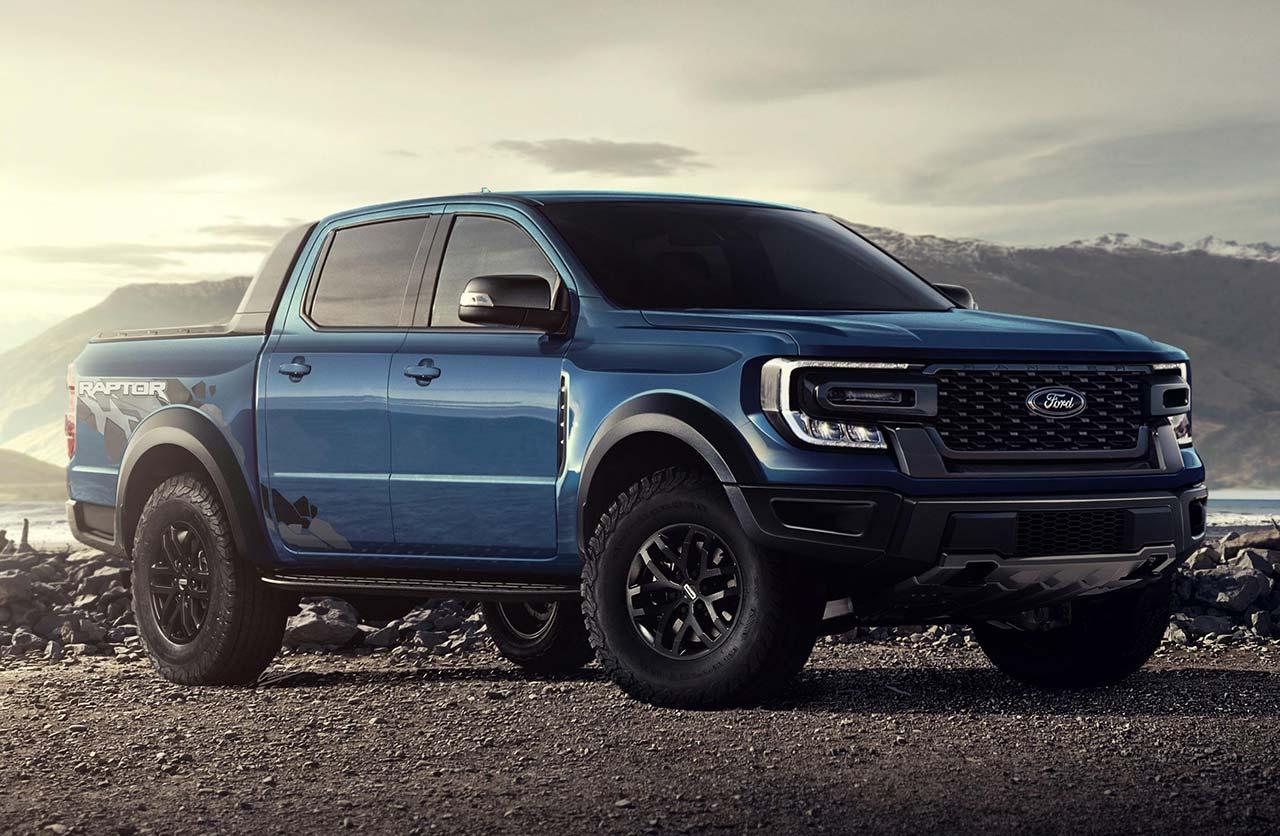 Ford Ranger Raptor 2023 render
