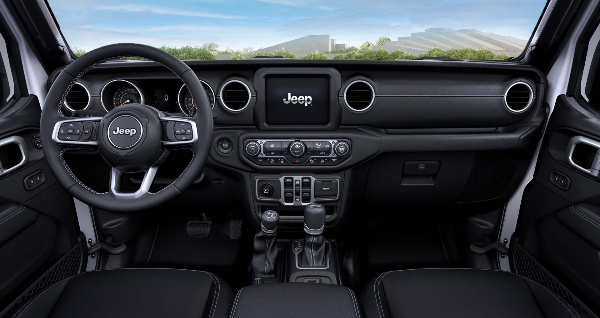 Interior Jeep Wrangler 80 Aniversario