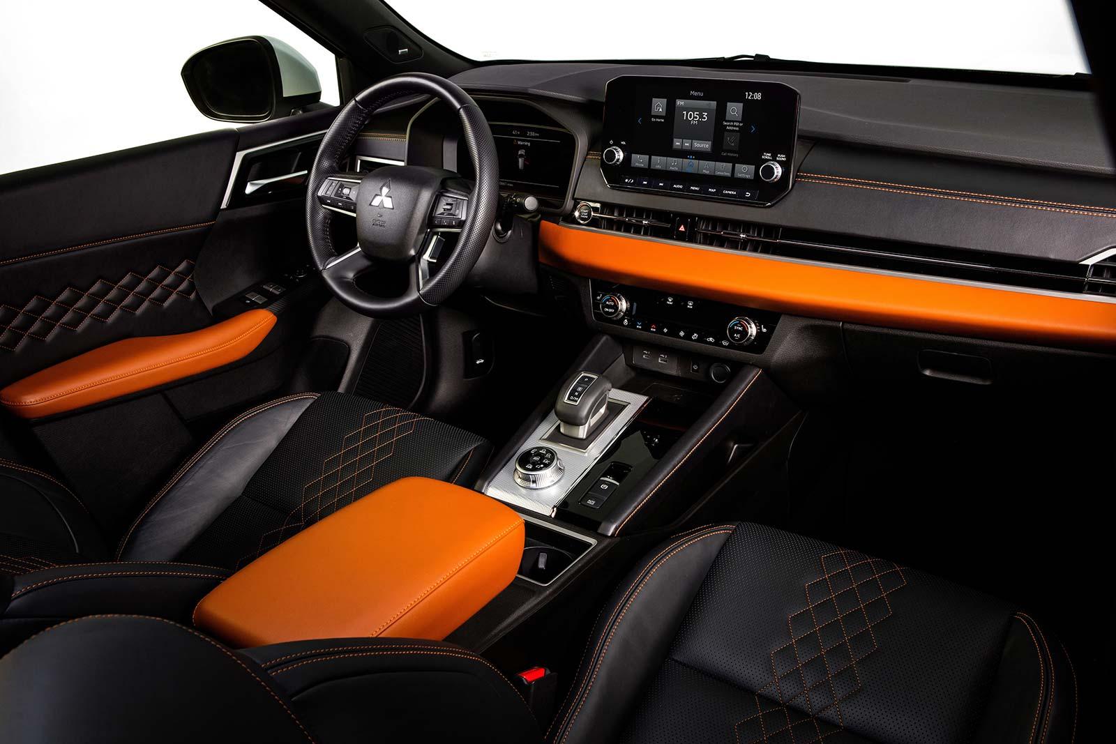 Interior Mitsubishi Outlander 2022