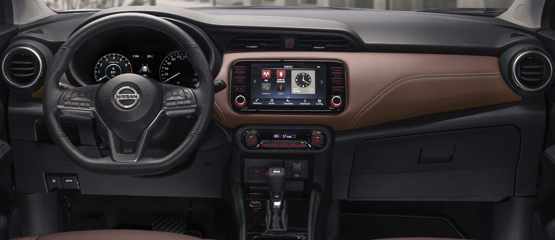 Interior Nissan Kicks 2021