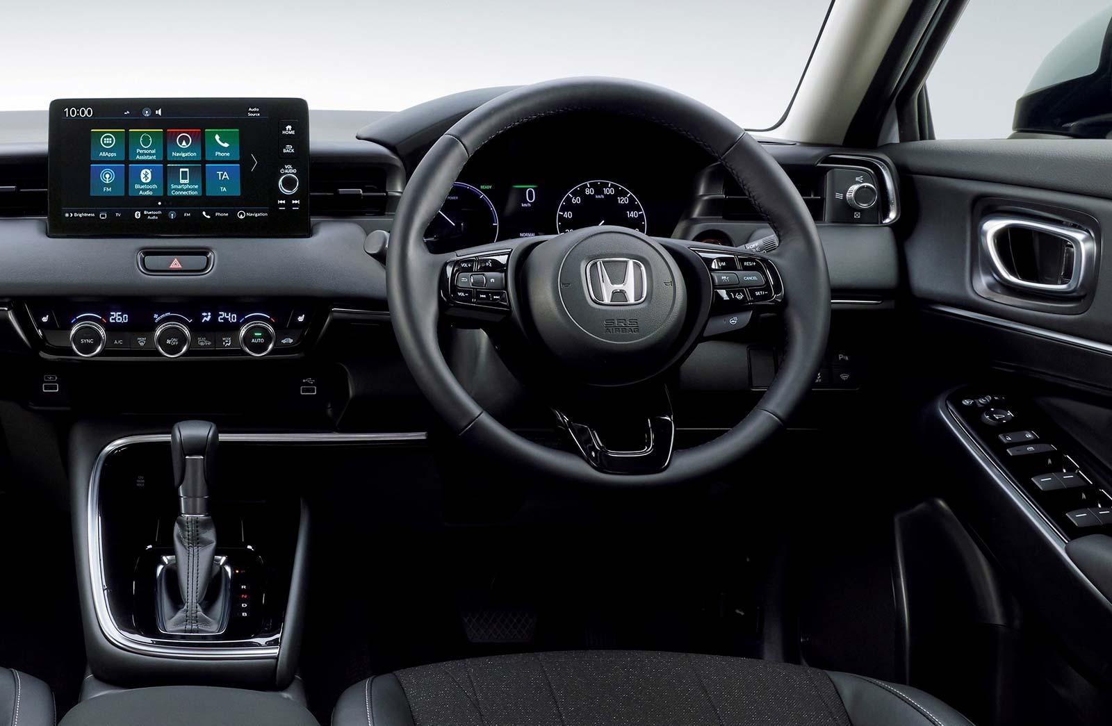 Interior Nueva Honda HR-V