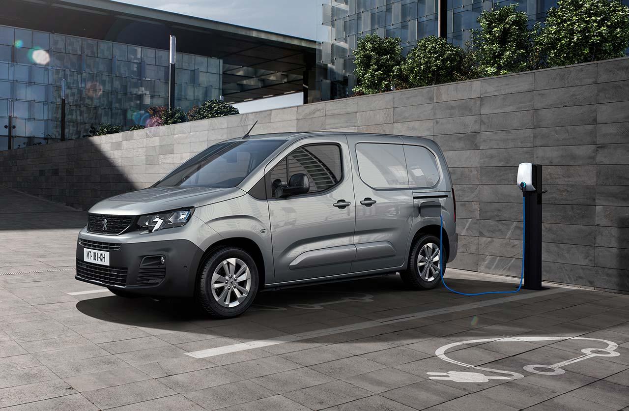 Peugeot e-Partner (eléctrica)