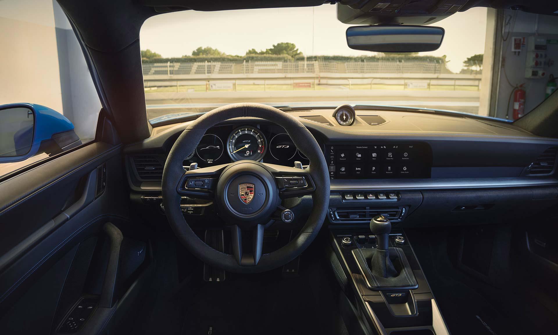 Interior Porsche 911 GT3 992