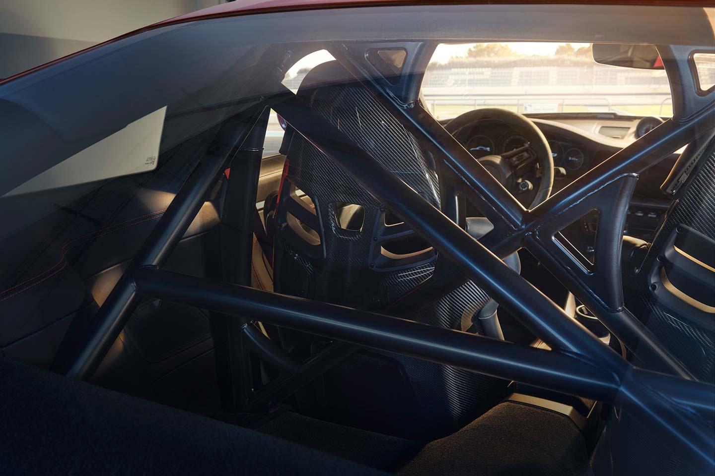 Estructura de seguridad Porsche 911 GT3 992