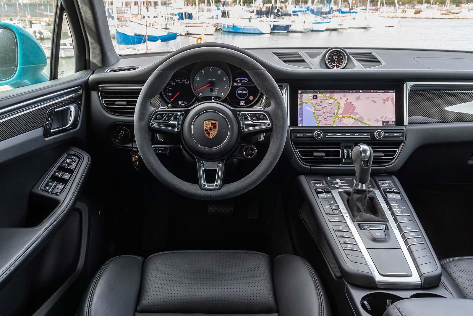 Interior Porsche Macan 2021