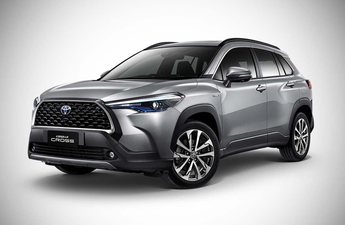 Toyota avanza con el Corolla Cross regional