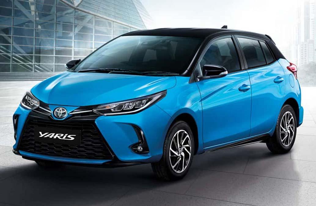 Se viene el restyling del Toyota Yaris