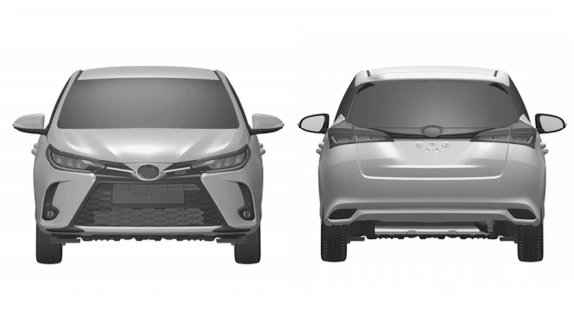 Toyota Yaris 2021 registro Brasil