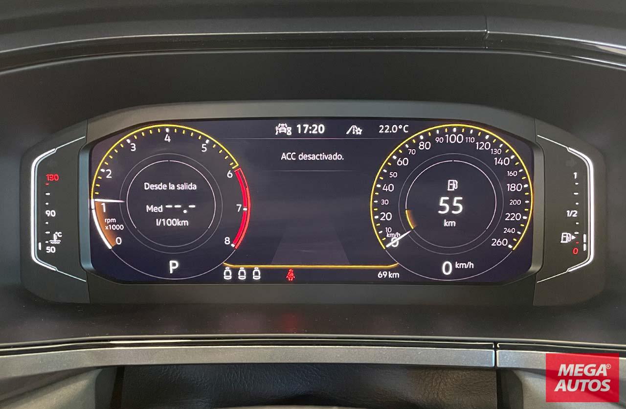 Tablero digital Volkswagen Taos