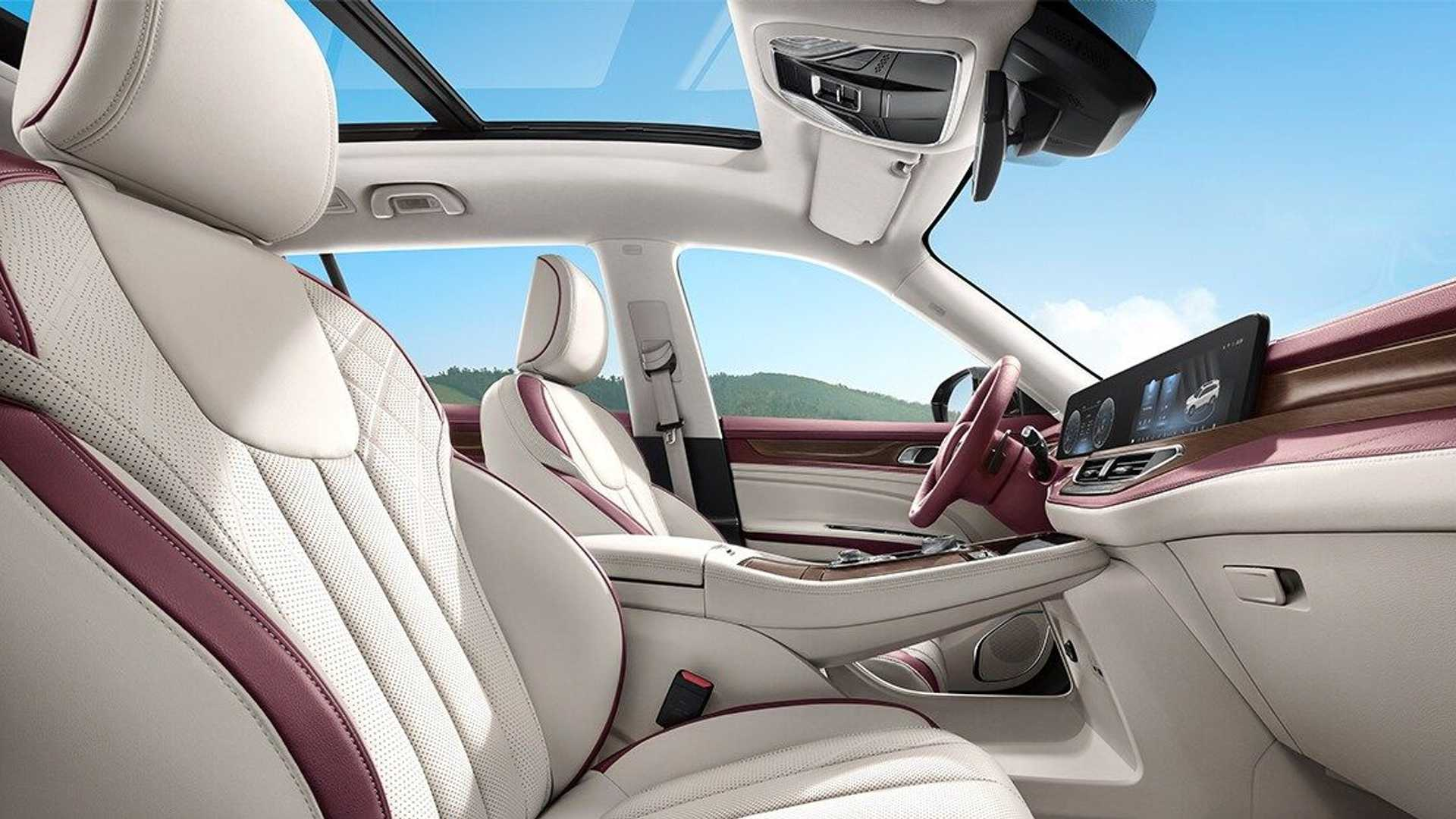 Interior Ford Equator